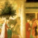 """Cappella Bacci """"Leggenda della Vera Croce"""" di Piero della Francesca"""